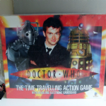 Doctor Who the time travelling action game mint sealed neil tennant @sold@